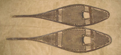 Antique Indian Snowshoes