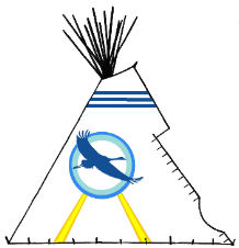 Good Omen Teepee - Copyright Assiniboine Tipis