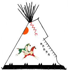 Pony Runner Tipi - Copyright Assiniboine Tipis