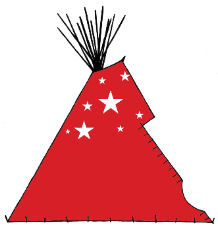 Red Lodge Indian Tepee - Copyright Assiniboine Tipis