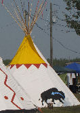 Ojibway Tepees