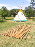 A new set of teepee poles